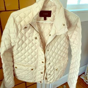 J. Crew Factory down quilted jacket